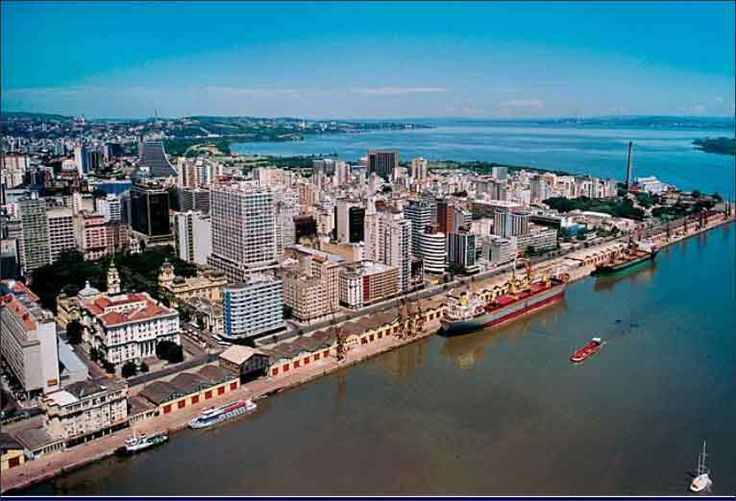 Porto Alegre - visão aerea - Google Search