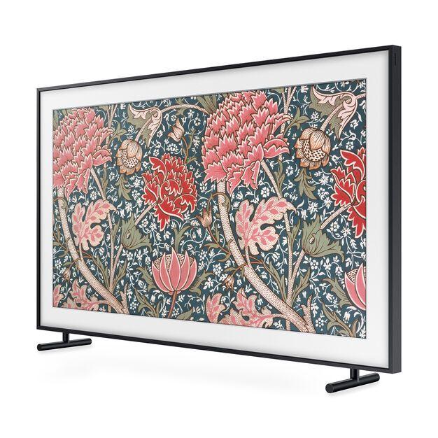 Samsung The Frame Qled 4k Uhd Tv With Images Framed Tv Hanging Picture Frames Framed Art Display
