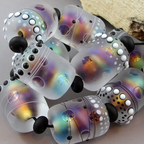 Magma-Perlas-Barril-Tesoros-Murano-Hechas-A-Mano-Perlas