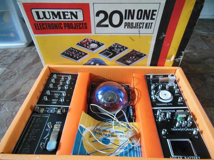 Vintage Lumen Electronic Project kit 20 in one #lumen