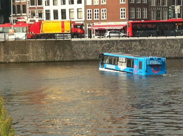 Amsterdam 2012, floating bus
