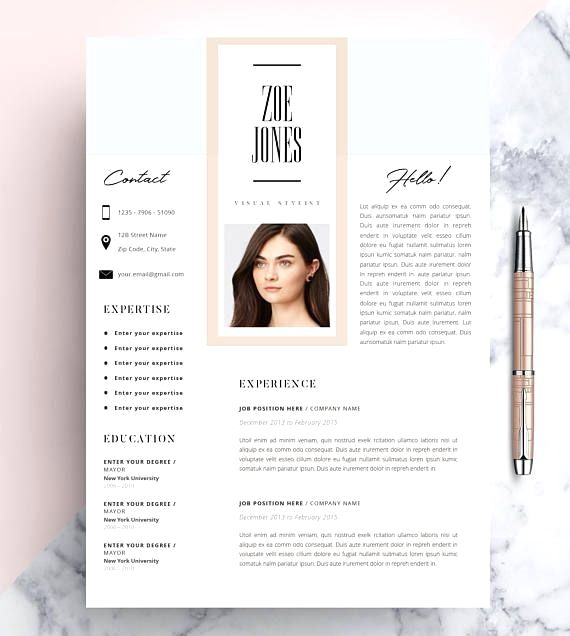 Creative Resume Template Cv Template Instant Download Editable In Ms Word And Pages Cover Letter Resume Design Creative Creative Resume Templates Creative Cv