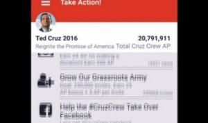 Ted Cruz Has A Really Creepy Mobile App  Want Republican candidate Ted Cruz to know everything about you? Download his mobile app!