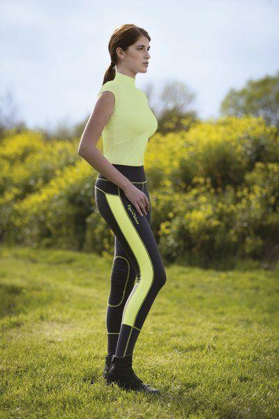 """Pantaloni equitazione donna Equi-thème modello """"Pull-On Endurance"""", con taglio sportivo per questo modello estremamente confortevole (20% elastan), leggero e stretch."""