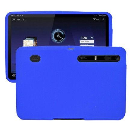 Soft Shell (Blå) Motorola XOOM Deksel