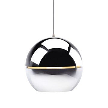 Retro Pendant Lamp Chrome R40, 235€, now featured on Fab. ,