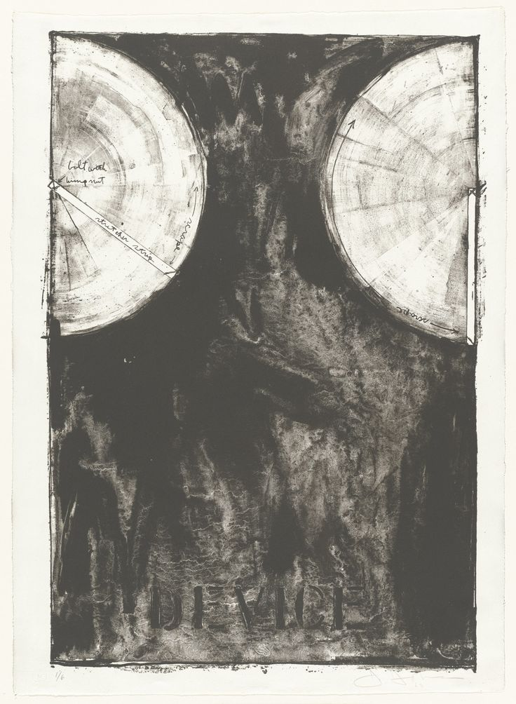 """Jasper Johns. Device. 1962. Lithograph. composition: 29 7/16 x 20 1/4"""" (74.8 x 51.4 cm); sheet: 31 1/2 x 22 5/8"""" (80 x 57.5 cm). Universal Limited Art Editions, West Islip, New York. Universal Limited Art Editions, West Islip, New York. 6. Gift of the Celeste and Armand Bartos Foundation. 356.1962. © 2017 Jasper Johns / Licensed by VAGA, New York. Drawings and Prints"""