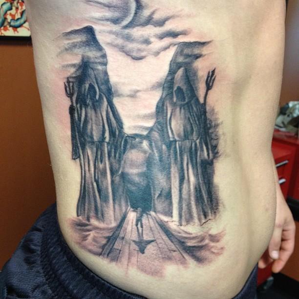 valley of death tattoo antonio 39 s tattoo portfolio