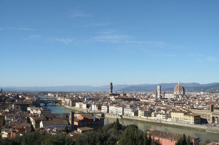 Florence: San Miniato al Monte and The Arno
