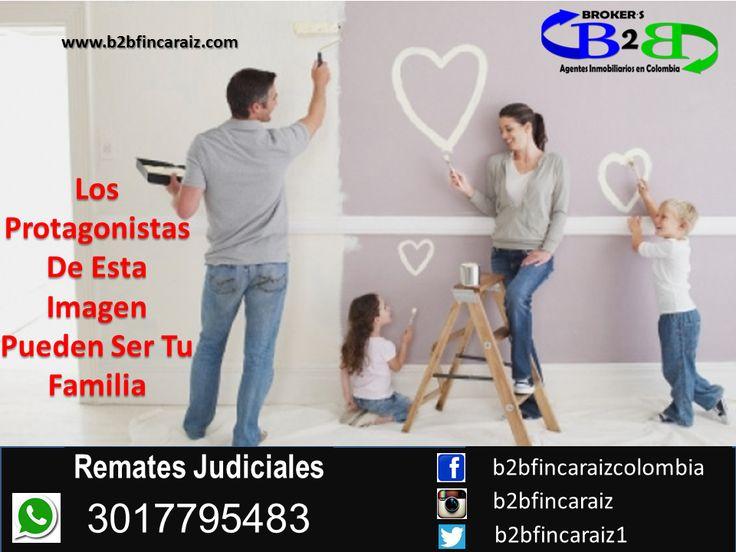 Remates Judiciales en Cartagena B2B Finca Raíz, Agentes Inmobiliarios en Colombia. El sueño de un hogar propio. www.b2bfincaraiz.com Cel: 3017795483. Estamos Para Servirte #FincaRaizCartagena