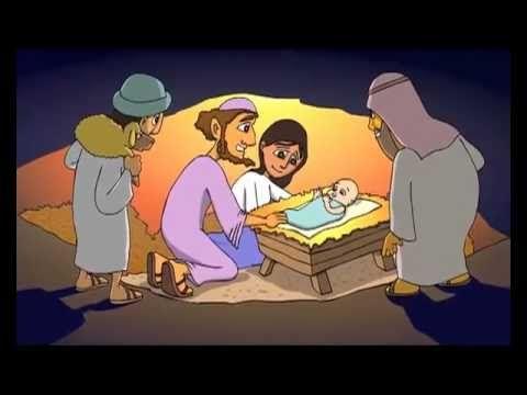 Kerstverhaal. - YouTube Erg leuke animatie van het kerstverhaal!