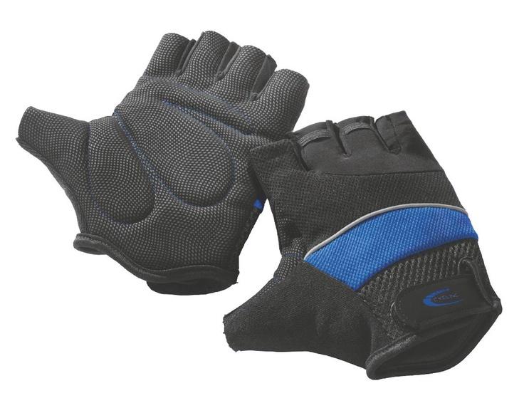 Amortyzują wstrząsy i chronią dłonie. Rękawiczki rowerowe z kolekcji dostępnej w Lidlu.