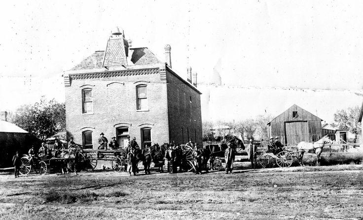 Old town hall in Brighton, Colorado. www.brightonco.gov