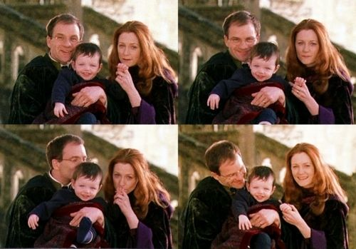 Lily and James Potter. I get that Snape loved Lily, but we can't forget how much James and Lily loved each other!!!