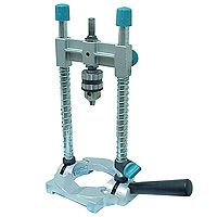 Portable drill guide - turns your electric drill into a drill press