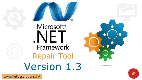 MICROSOFT .NET FRAMEWORK REPAIR TOOL VERSION 1.3 IS OUT NOW! by http://blog.heliossolutions.in/microsoft-technologies/microsoft-net-framework-repair-tool-version-1-3-now/