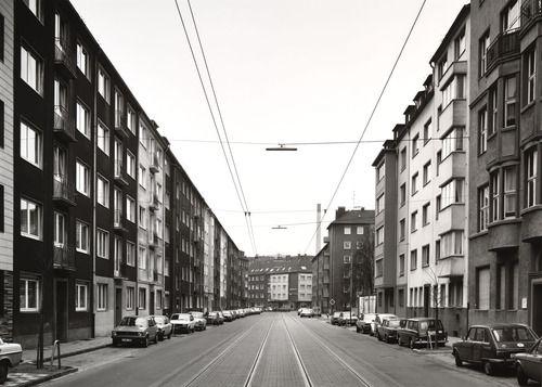 Thomas Struth, 'Sommerstrasse, Düsseldorf' 1980