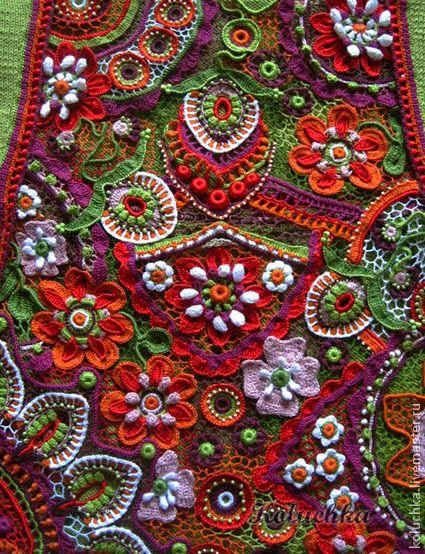Кружевные шедевры Лены Статкевич. | Irish crochet &