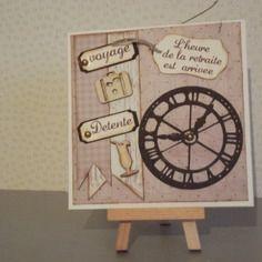 """Carte """"départ en retraite"""" invitation, à personnaliser selon votre envie"""