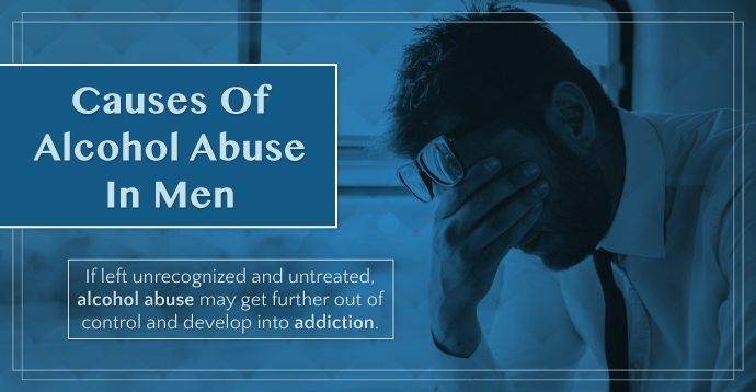 Alcohol abuse rarely happens for a singular reason. Instead, there are various factors that build off of each other, in a capacity that pushes a person towards #alcohol abuse. Find out what factors may cause alcohol abuse in #men.