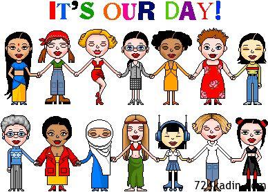 8 Mart Dünya Kadınlar Günümüz Kutlu Olsun :)