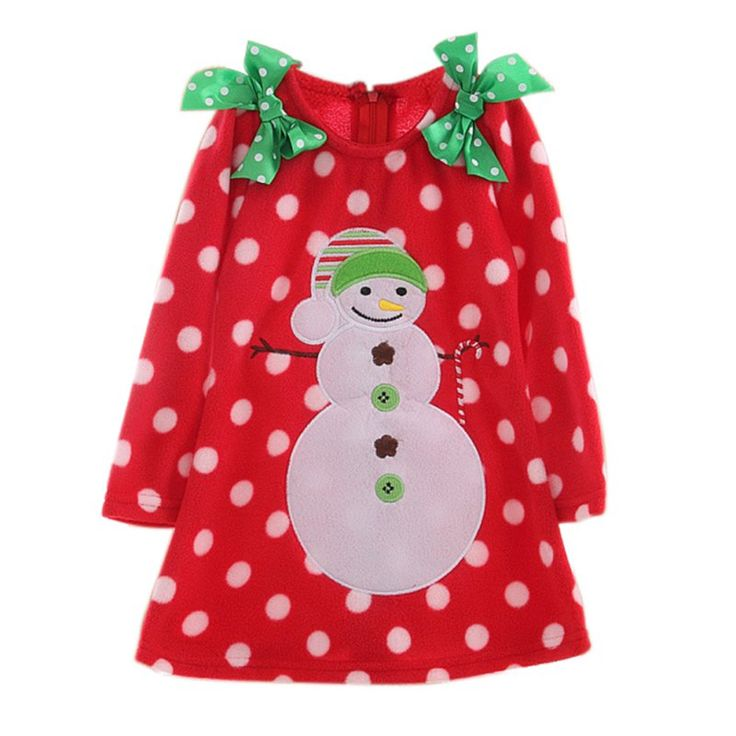 Baby Girl Christmas Dress Polka Dots Costumes Children's Lovely Princess Dress #>=#>=#>=#>=#> Click on the pin to check out discount price, color, size, shipping, etc. Save and like it!
