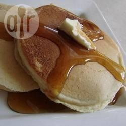 Recipe photo: Fluffy Canadian pancakes