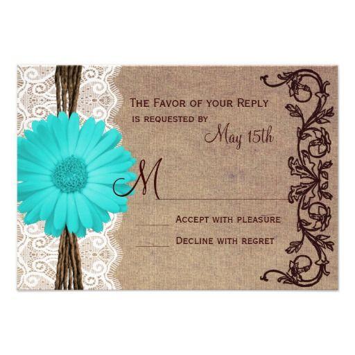 Hot Pink Gerbera Daisy White Wedding Invitation 5 X 7: 17 Best Images About Daisy Wedding Invitations On