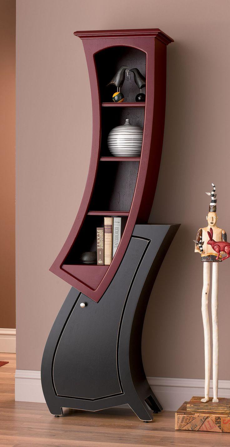 Stacked cabinet no 7 by vincent leman wood cabinet for Funky designer furniture