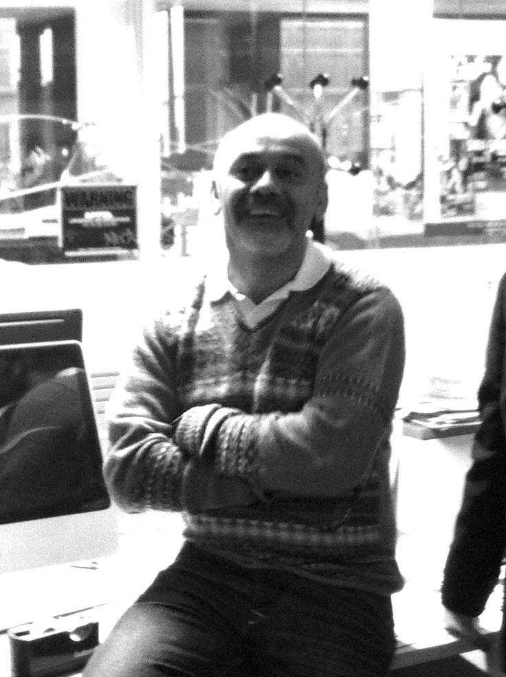 Christian Louboutin chez Gala