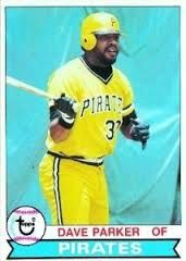 1979 pirates dave parker baseball card value #mlb #pirates