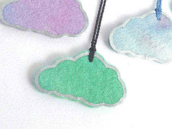#makeforgood - Check out this item in my Etsy shop https://www.etsy.com/au/listing/253028663/cloud-with-a-silver-lining-necklace