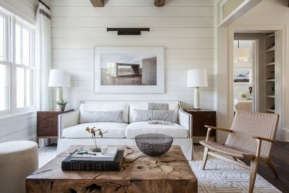 Non Farmhouse Shiplap Paneling - Claire Brody Designs