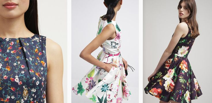 Sukienki w kwiaty są zdecydowanym hitem tej wiosny. Sprawdź kilka naszych typów na najciekawsze sukienki w kwiaty.