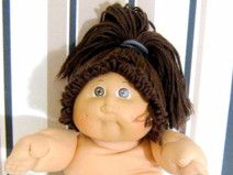 Cabbage Patch Kids Stoffpuppe  80er Vintage 40 cm