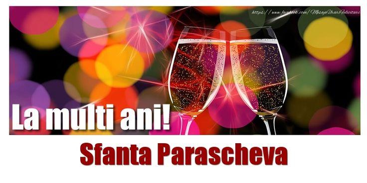La multi ani! Sfanta Parascheva