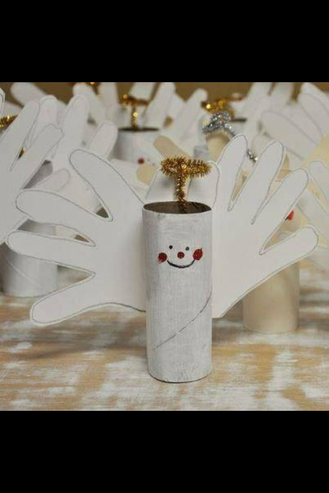Christmas Crafts - cute angels to make!
