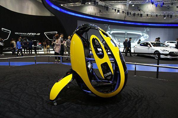 """Hyundai presenta il prototipo E4U il futuro della mobilità """"personale"""""""