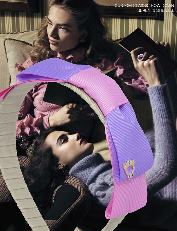 Headband inspired by Close up in Vogue Italia October 2016