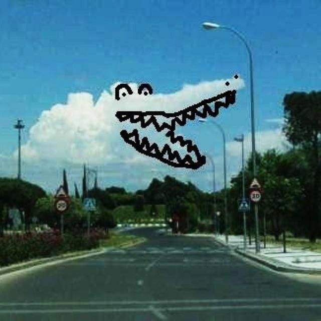 Nube cocodrilo!!! ;)