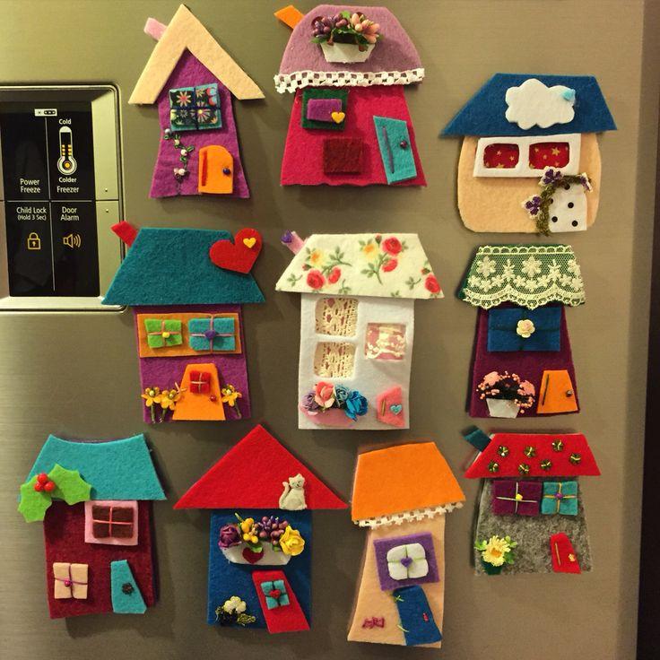keçe, keçe magnet, magnet, sipariş, elyapımı, felt, feltro, felt megnet, design, handmade, keçe ev, keçe magnet