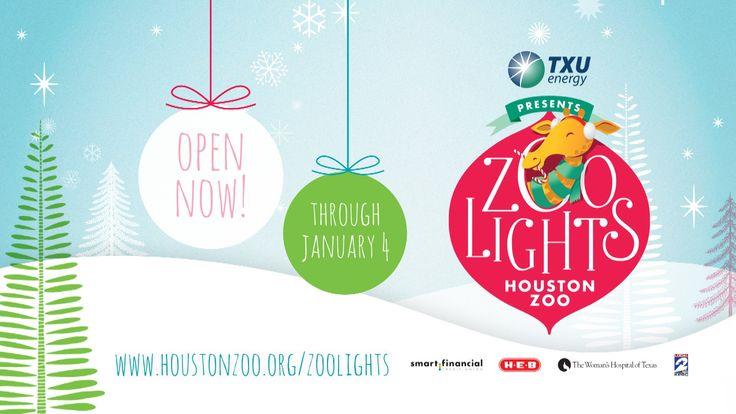 TXU Energy Presents Zoo Lights - 2014