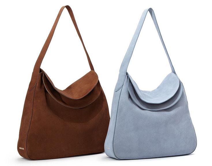 prada saffiano leather clutch - Prada Double-Flap Suede Shoulder Bag | Favor Style|Women ...