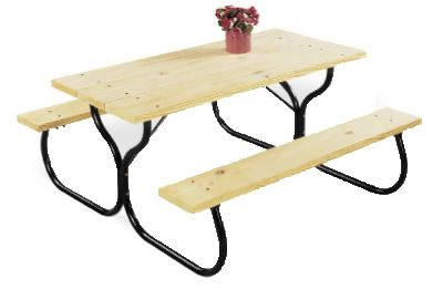 17 Best Ideas About Round Picnic Table On Pinterest
