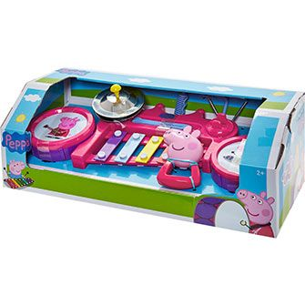 Pink Peppa Pig Music Station