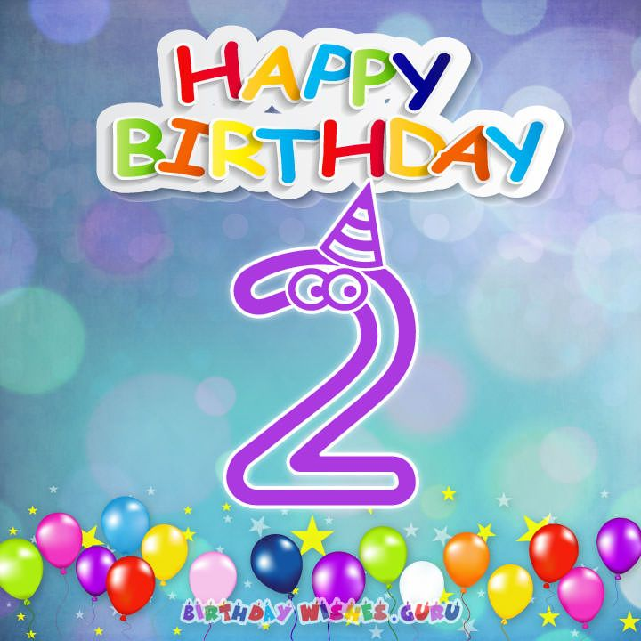 Happy 2nd Birthday Wishes For Baby Girl Or Boy Birthday Wishes Guru Happy 2nd Birthday Birthday Wishes Boy Happy Heavenly Birthday