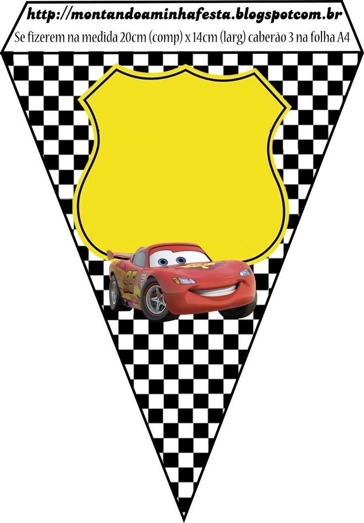 Montando minha festa: Carros da Disney