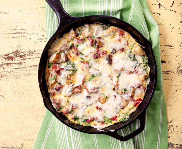 Bacon Potato Frittata