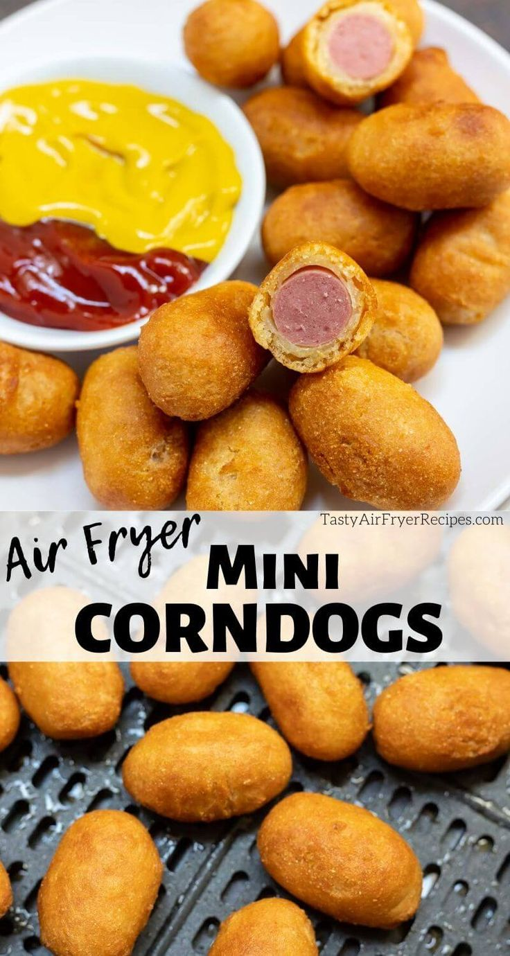 How To Cook Mini Corn Dogs In Air Fryer Tasty Air Fryer