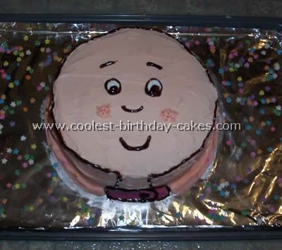 My son LOVES Caillou. He will have this cake for his family birthday.